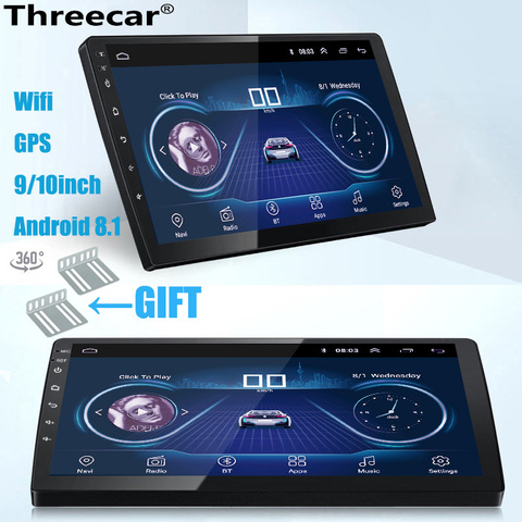 9 10 polegada android 8 1 radio do carro universal 2din android car radio dvd