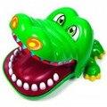 Juguetes creativos de Cocodrilo Cocodrilo de la Mordedura Del Dentista de Dedo Juego Divertido del Padre-niño de La Novedad de Juguete para Niños Regalos de Cumpleaños