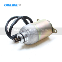 9Teeth Start Starter Motor for 125cc 150cc GY6 Engine Motor Chinese Moped Scooter quad atv bike buggy pit pro go kart & scooter