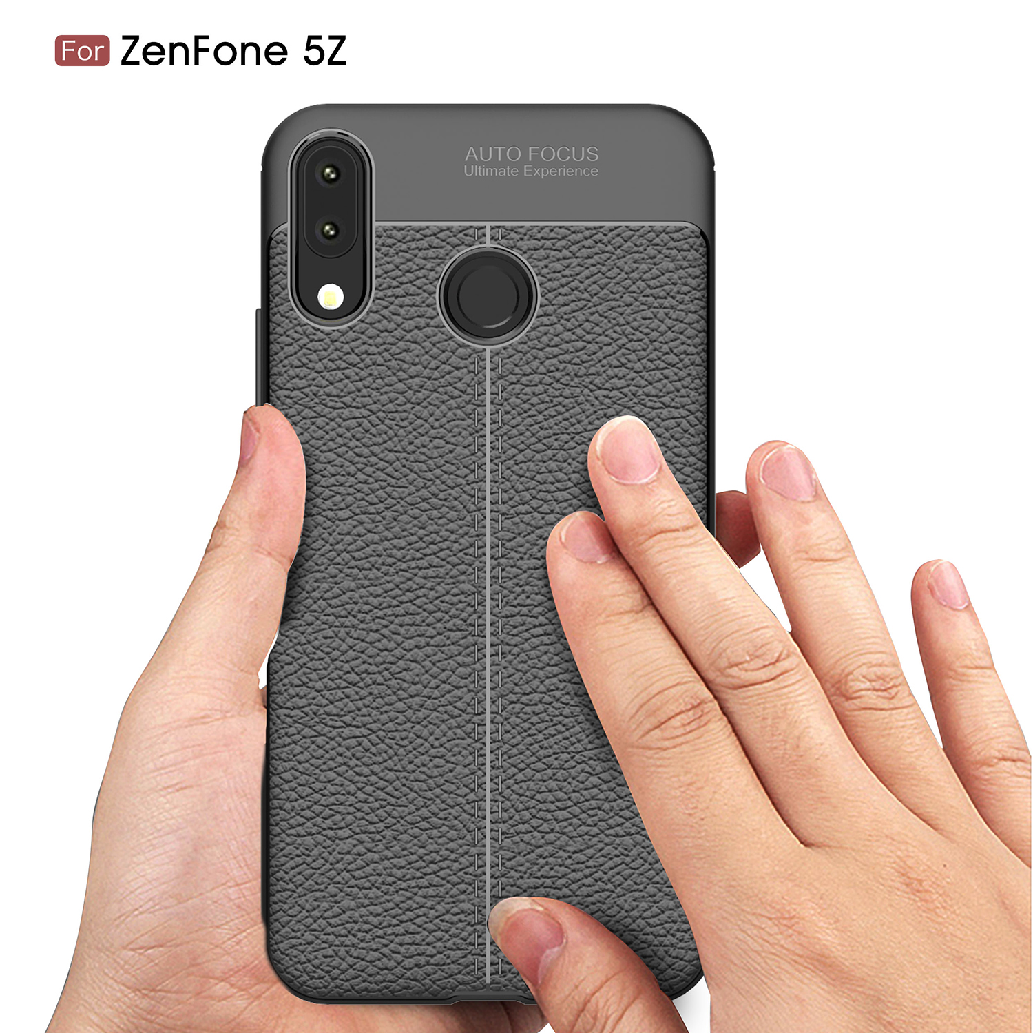 For Phone Cover Asus Zenfone 5Z Zenfone 5 ZE620KL Case Luxury Litchi Leather Pattern TPU Shell sFor Asus Zenfone 5 2018 Case in Fitted Cases from Cellphones Telecommunications