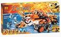 Bela 10357 Chimaed Building Blocks Sets God tiger Tribe Super chariot Kids Bricks Toys Compatible with Legoe 70224