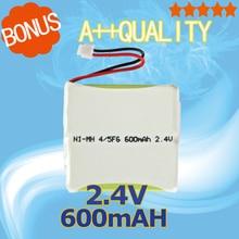 Golooloo 2.4V 600mAh Ni-MH Cordless Rechargeable Battery 5M7