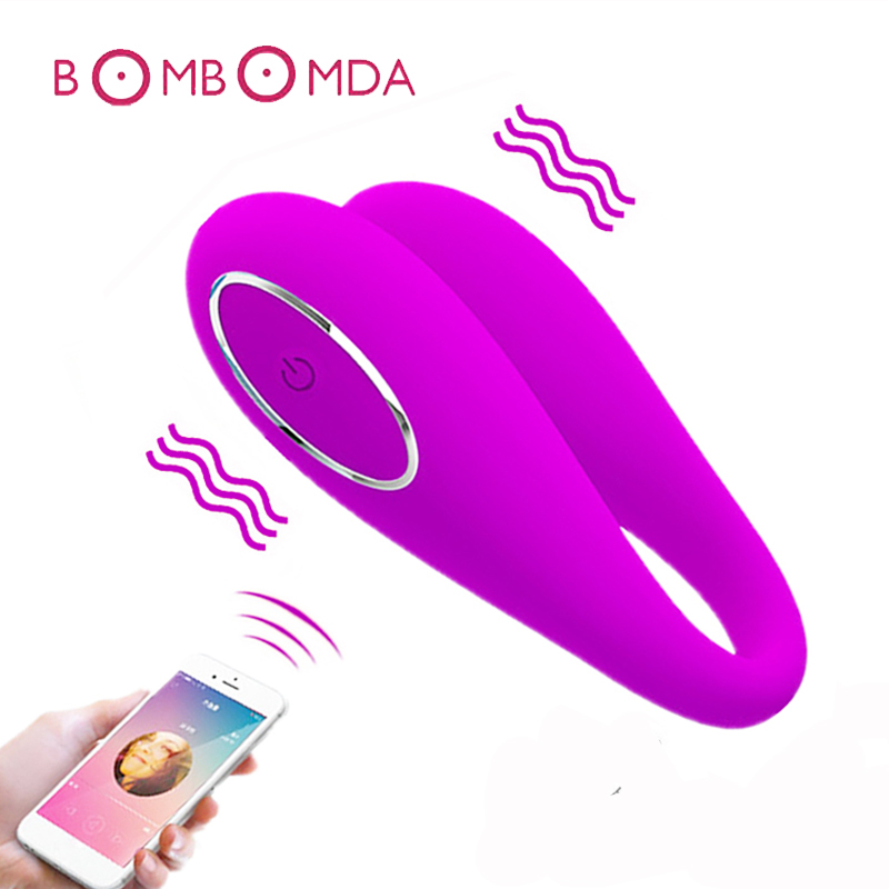 USB Rechargeable Clitoral G-Spot Vibrating Egg Clitoris Stimulator Massager Dildo Vibrator Sex Toys for Woman Female Masturbator