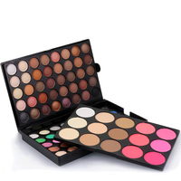Professional Eye Makeup Matte Pearl Glitter Shimmer 80 Colors Eyeshadow Palettes With Blush Powder Long-lasting Beauty POPFEEL
