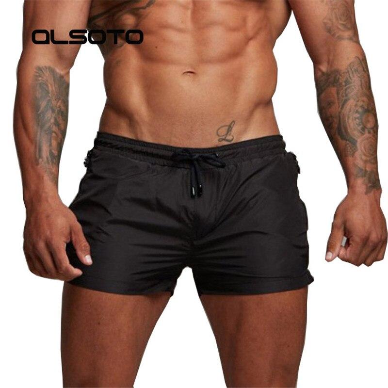 2019 New Mens Sexy Swimsuit Shorts Man Swimwear Men Briefs Swimming Sunga Beach Shorts Swim Trunks Sports Surf Mayo Board Shorts