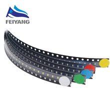 1000 sztuk/partia 5 kolorów SMD 0805 Led Ultra Bright czerwony/zielony/niebieski/żółty/biały woda wyczyść LED Light Diode