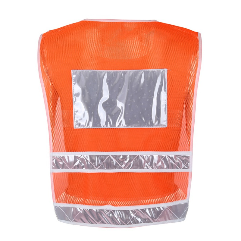 Safety Vest Traffic Solid Motorcycle Night Rider Reflective Security Jacket Sportswear Outdoor Cycling Waistcoat Uniforms Newest