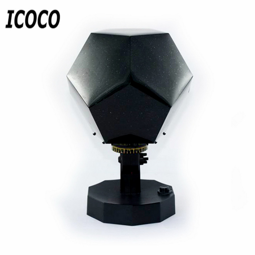 ICOCO Celestial Star Astro Sky Cosmos Night Light Projector Lamp Starry Bedroom Romantic Decor Drop Shipping 2nd/5nd Generation