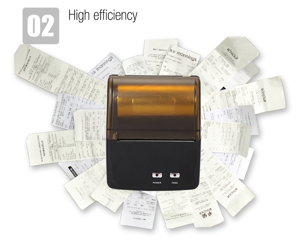 цены Free shipping 58mm mini wireless bluetooth thermal printer receipt printer support Android for pos restaurant