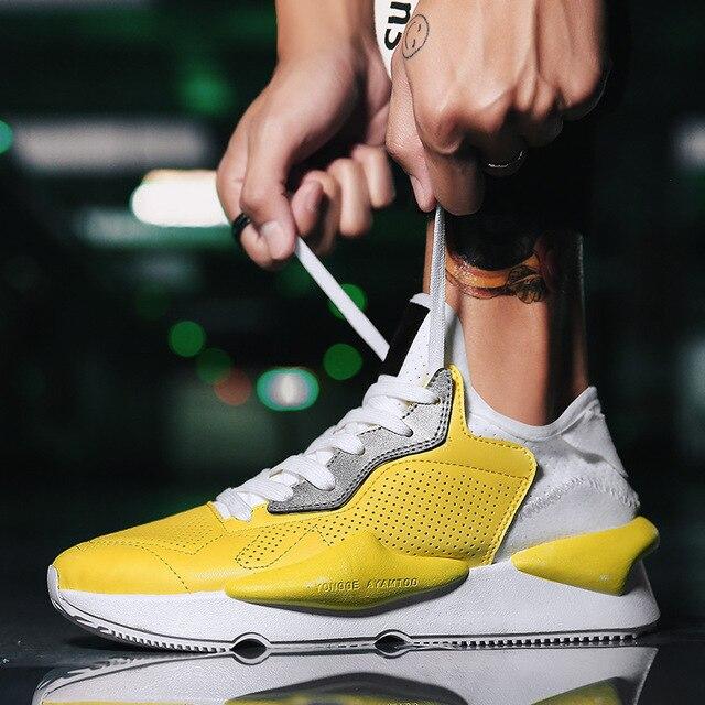 INS/Лидер продаж Винтаж папа Для мужчин обувь 2018 Канье Уэст Мода 500 Светло дышащая мужская повседневная обувь Для мужчин кроссовки zapatos hombre # y3