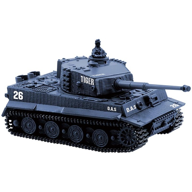 4 Colors Mini Tiger Military Battle RC Tank Remote Radio Control Army Panzer Armored Children Electronic Toys for Boys Kids GiftRemote Control Toys