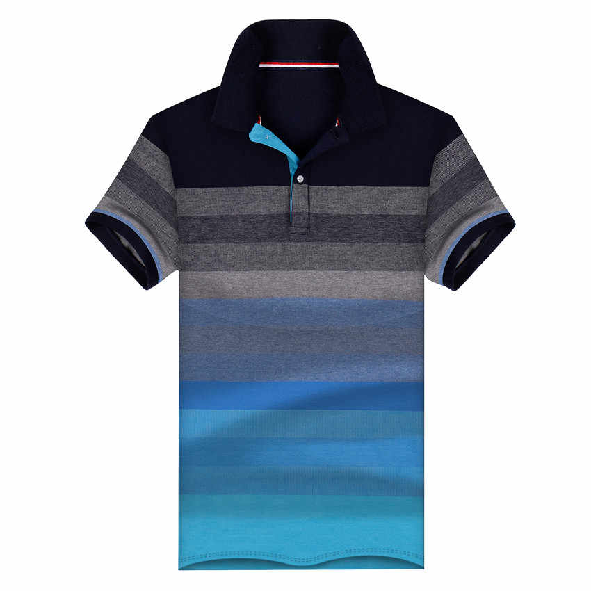 e92f23f26b4ac Brand Men s Polo Shirt Cotton Male Casual Shirts Short Sleeve shirts Men  Top Boys Summer Polo