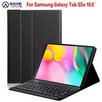 Bluetooth keyboard case for Samsung Galaxy Tab S5E 2019 SM T720 SM T725 for Galaxy tab S5E 10.5 wireless keyboard tablet cover