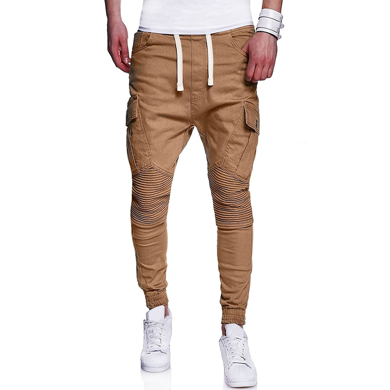 Autumn And Winter Men's Fashion Solid Color Pants