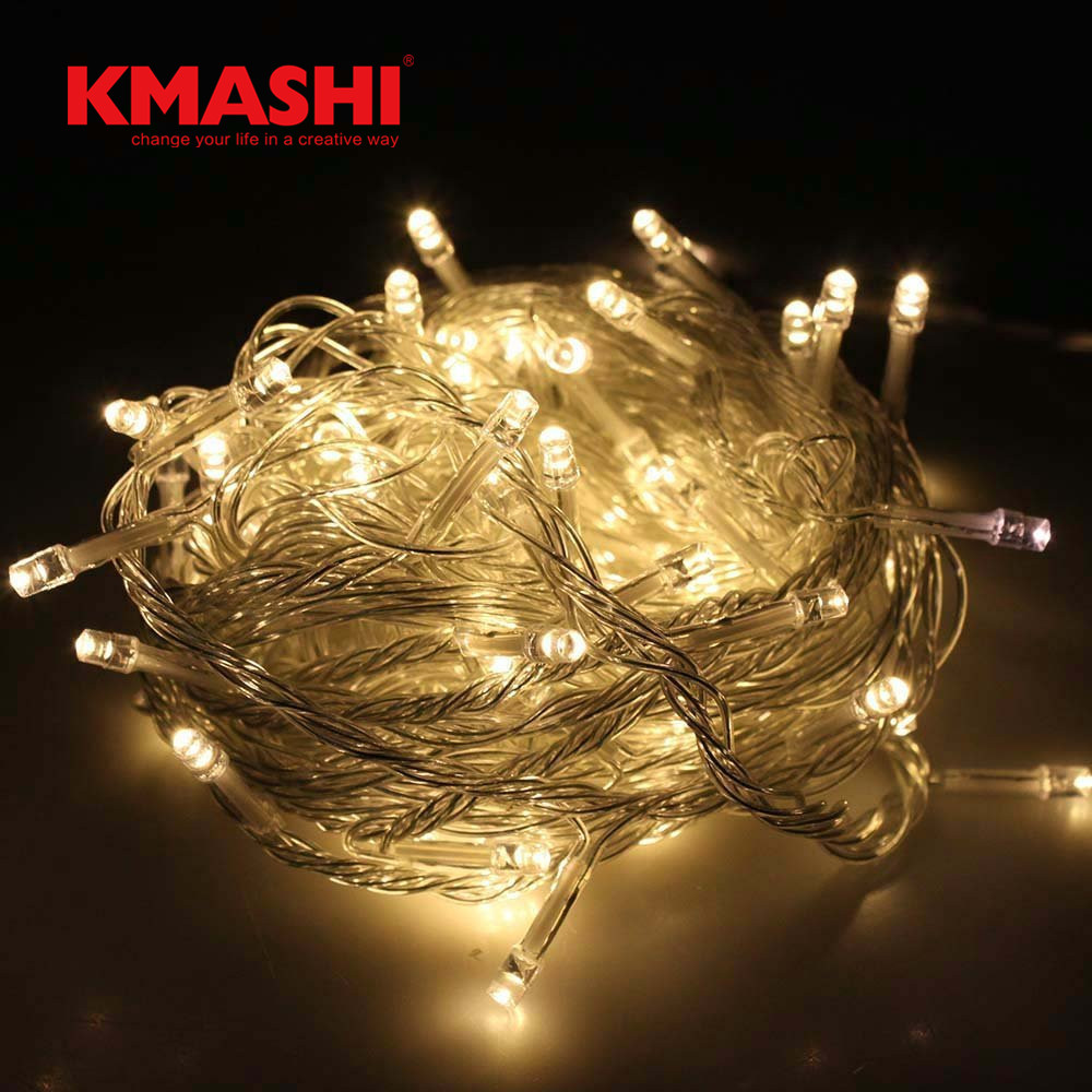 Kmashi 30M 300LED String Light Connectable Outdoor Waterproof IP65 Twinkle Fairy Lightin ...