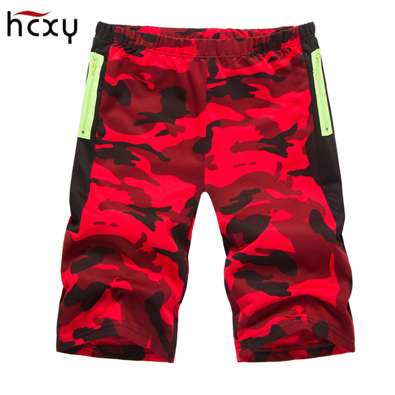 HCXY2018 Mens Camo Casual Shorts Male Loose Work Shorts Man Military Short Pants Men Beach Shorts