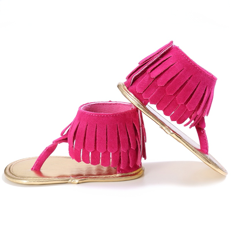 Baby-Girl-Tassel-Sandal-Summer-Shoes-Anti-slip-Flip-Flop-Newborn-Prewalker-0-18M-1