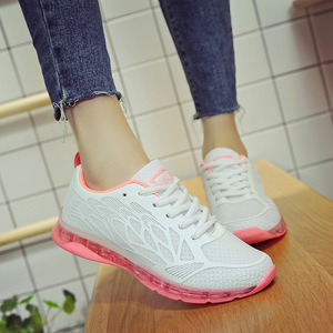 Image 3 - SWYIVY مكتنزة حذاء كاجوال النساء أحذية رياضية أحذية نسائية 2019 جديد الخريف شبكة رياضية بيضاء للنساء الضحلة السيدات حذاء
