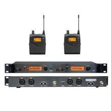 In Ear Monitor Wireless System, Twin transmitter Monitoring Professional for Stage Performance SR2050 IEM