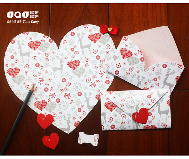 4pcs heart shape pink birthday letter paper greeting card envelope 4pcs heart shape pink birthday letter paper greeting card envelope writing paper gift card for valentines m4hsunfo