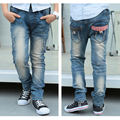 Children Jeans For Boys Clothing Spring Autumn Boys Denim Pants School Kids Clothes Teenage Boys Trousers 2-15T