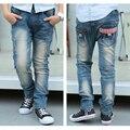 Crianças Jeans Para Meninos Roupas Primavera Outono Meninos Calças Jeans Roupa Dos Miúdos Da Escola Adolescente Meninos Calças 2-15 T