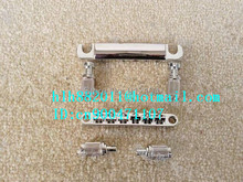 free shipping new  strings electric guitar bridge in chrome made in China 8205-3