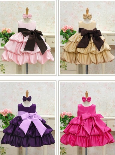 Childrens Birthday Party Dress Korean Christmas For New Year 2 6