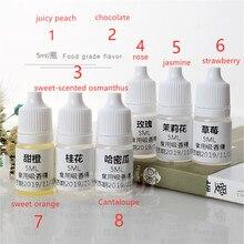 8 бутылок масла-растворимый пищевой вкус, подходит для DIY помады ручной работы, мыло, свечи, расширение каменный вкус добавка