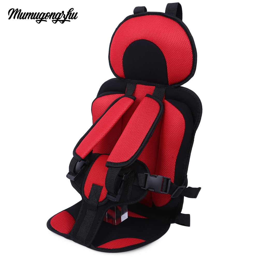Swell Portable Baby Car Seat Mat Bean Bag Chair Seat Puff Thickening Sponge Toddle Feeding Chairs For 6 Months 1 5 Years Old Kids Activity Mat Kids Playing Pabps2019 Chair Design Images Pabps2019Com