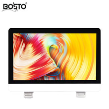 BOSTO KINGTEE Artista 21,5 zoll Grafiken Tablet zu Zeichnen Hand gemalt Monitor Alle in einer Maschine FHD IPS Panel handwrite Stift