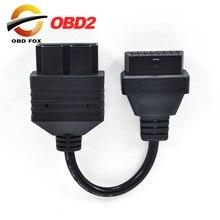 2020สำหรับ Kia 20 PIN ถึง16 PIN OBD1 To OBD2สายเชื่อมต่อ Kia 20PIN สายวินิจฉัยรถยนต์ ForKia 20 PIN Connerctor