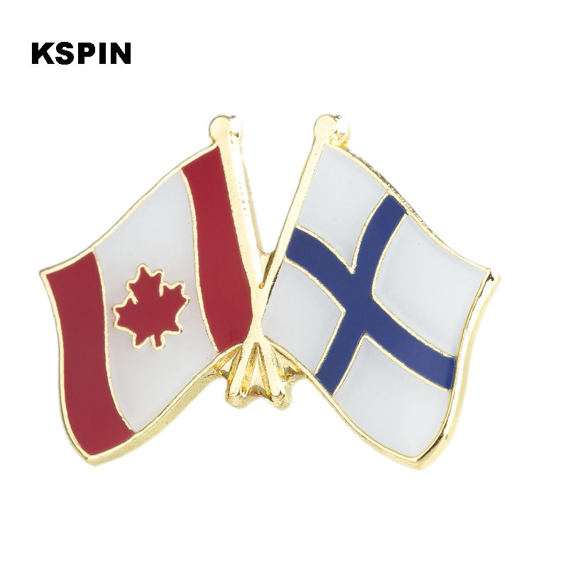 Australia Ireland Friendship Flag Label Pin Metal Badge Badges Icon Bag Decoration Buttons Brooch For Clothes 1pc Badges
