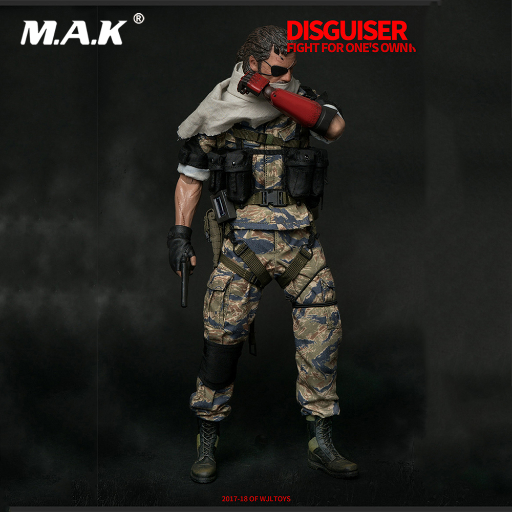 1 6 Collectible Metal Gear Solid 5 Old Naked Snake Solider