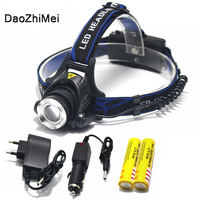 CREE XM L XML T6 LED Headlamp Headlight 3 Mode 1600 Lm Zoomable Zoom IN OUT