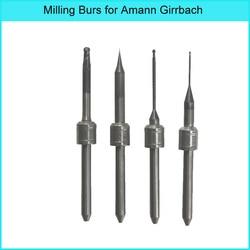 AMANN GIRRBACH  Ceramill Roto Motion 2 Germany Diamond DC Coating Milling Burs for Zirconia 0.3/0.4/0.6/1.0/2.5mm