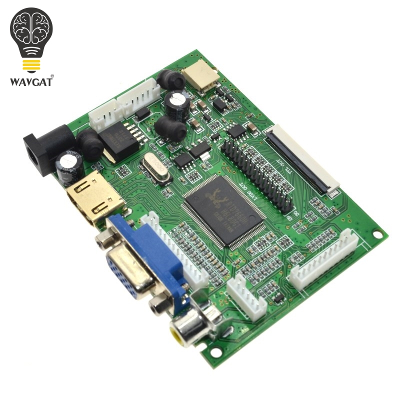 HDMI VGA AV Tela Módulo Para Raspberry Pi Pcduino Pi Banana não cluindo 7 polegada IPS LCD