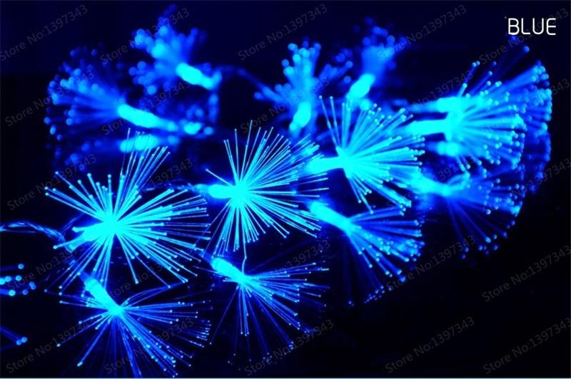 De Natal Tubo Tira Lâmpada Flor para