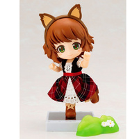 10CM Nendoroid Little Red Hat Movable Joints Action Figure PVC Statue Cute Real Clothes Ver Model Decoration Toy with Box H367