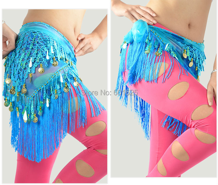 wholesale new belly dance hip scarf  Belt (hs14)