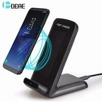 DCAE QI WIRELESS-LADEGERÄT Für iPhone X Smart IC Drahtlose Schnelle ladegerät Handyhalter Für iPhone 8 8 Plus Ladestation