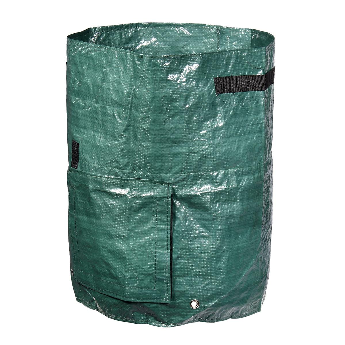 Garden Composter Bin Grow Bag 60L Eco Friendly Organic Compost ...