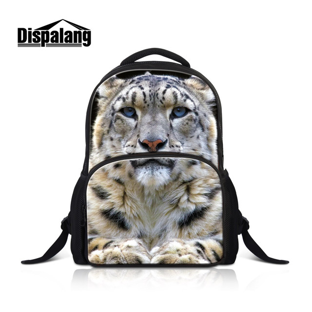 Dispalang 17 Inch Large Capacity Laptop Backpack For College Animal Leopard School  Bags For Teenage Boys Men Travel Shoulder Bag cea12f7d74a5b