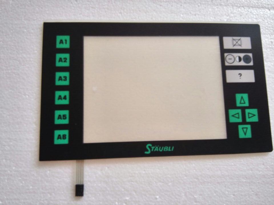 STRAUBLI JC6 JC5 Touch Glass Panel Membrane Keypad for HMI Panel repair do it yourself New