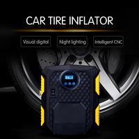 Digital Tire Inflator DC 12 Volt Car Portable Air Compressor Pump 150 PSI Car Air Compressor for Car Bicycles Motorcycles