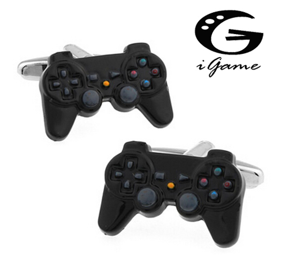 IGame GamePad Cuff Links 3 Styles Option Funny Joystick Design Free Shipping