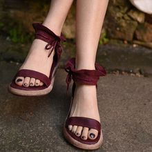 2016 summer original design handmade women shoes genuine leather high heels thick bottom sandals