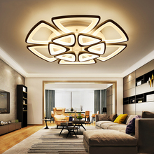 Postmodernism Triangle Led Dimmable Home Lighting Ceiling Lamps For Sitting Drawing Living Room Foyer Salon Decor Light Fixture