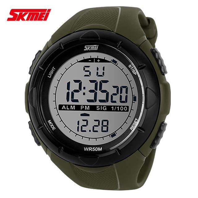 463460c57c6 Relógio Masculino À Prova de Água Relógio Esportivo Masculino Led Digital  Relógios Masculinos Marca Luxuosa Casual