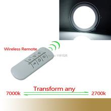 Newest Intelligent Led Panel Lighting Downlight With Wireless Remote 15W/21W AC85~265V Transfor any 2700K~7000K Indoor Light